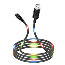 Cable De Datos Y Carga Rápida Xo Nb108 Con Luz Led
