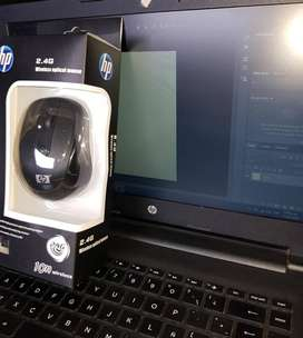 Mouse negro Hp Inalambrico 2.4 ghz