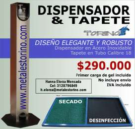 SUPER COMBO Dispensador & Tapete