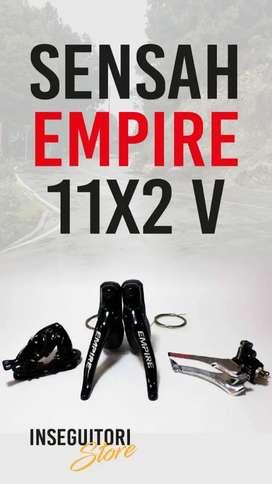 Mini grupo 11v para bici ruta Sensah Empire