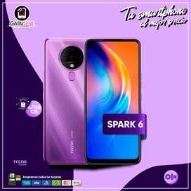 Tecno Spark 6 4/128GB *con garantía*