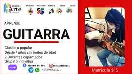 CURSO DE GUITARRA PARA NIÑOS