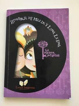 Historia de Malik Y Luna Llena. Editorial Letra Impresa