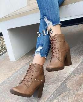 Zapato Bota Botin Tacon