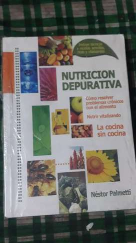 NUTRICION DEPURATIVA (USADO como nuevo)