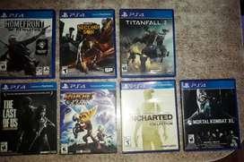 Vendo juegos de ps4, solo vendo no permuto!!!