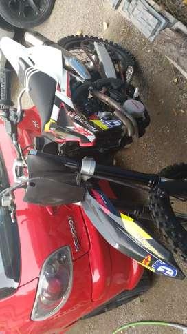 Vendo permuto Husqvarna TC 250cc x utv