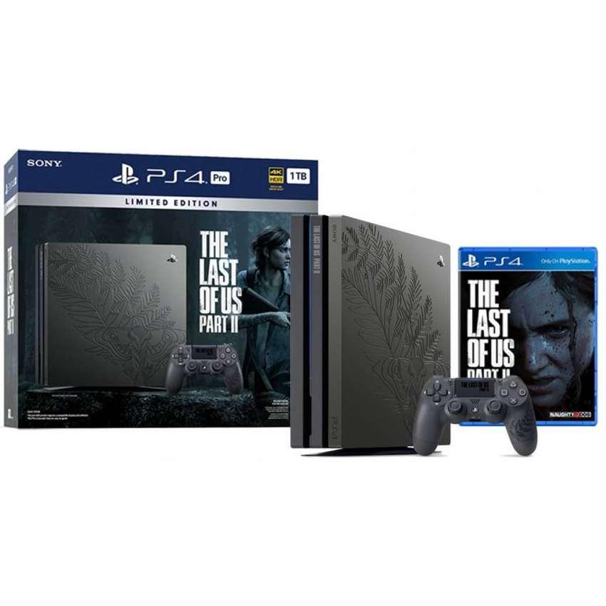 PS4 Pro The Last Of Us Parte II juego del año Edición Limitada 0