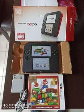 Nintendo 2ds 3ds vendo cambio
