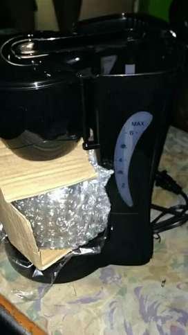 Venta de cafetera eléctrica nueva