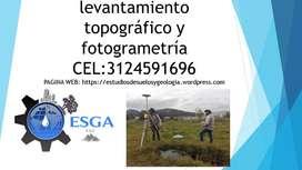 levantamiento topográfico y fotogrametría aérea con drone