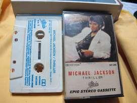 Michael Jackson - Thriller - Cassette ARG