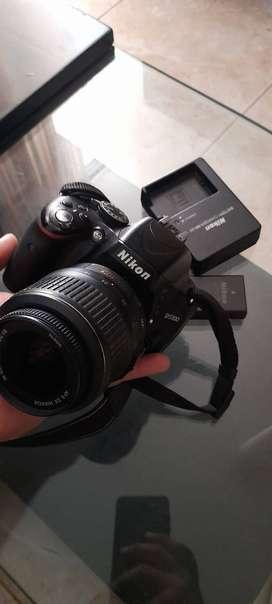 Camara Profesional Nikon. Como nueva, muy poco uso, muy bonita y Cuidada, con todas sus cosas.