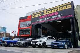 Taller automotriz Euro American Motors Sede Premium