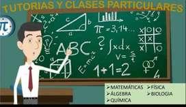 Clases a Domicilio en Cali de Matemáticas, Física y Química(Tareas)