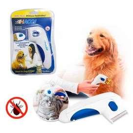 Cepillo Anti Pulgas Para Mascotas
