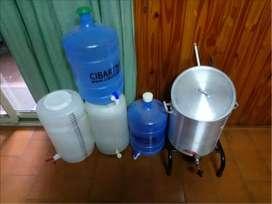 Kit para fabricar Cerveza artesanal