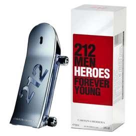 212 Men Heroes - carolina Herrera