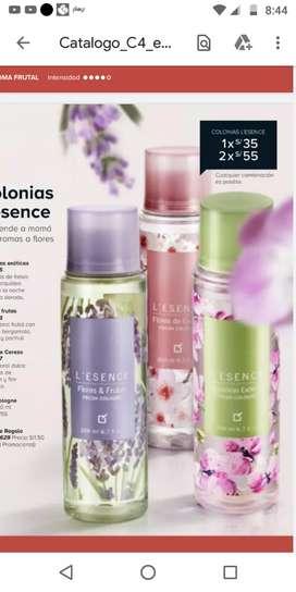 Perfumes en ofertas Unique y Natura