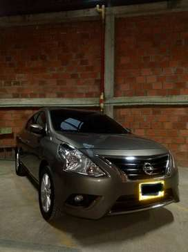 Se vende Nissan versa advance modelo 2016