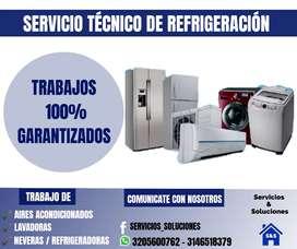 Servicios técnicos de Refrigeración