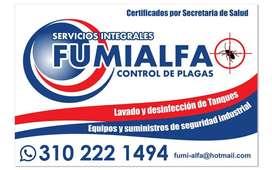 SERVICIO DE DESINFECCIÓN, FUMIGACIÓN, CONTROL DE PLAGAS