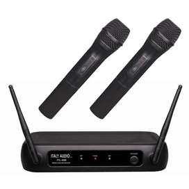 Microfono inalambrico  italy audio  cod 8388e