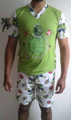 Pijamas super heroes reflectivas