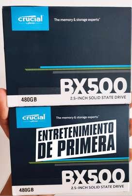 Disco Sólido Ssd Interno Crucial 470 GB SATA