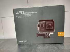 Camara de acción apeman a80 4K ultra HD 20 MP sumergible hasta 40mts