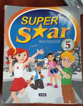 Libros de ingles super star 5