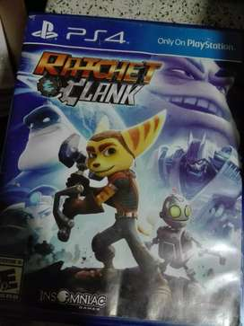 Vendo o Cambio Ratchet and Clank PS4