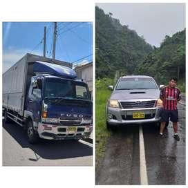 Servicio de alquiler de camionetas 4x4 y transporte de carga a nivel nacional
