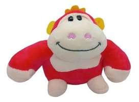 Juguete Peluche Mono Pequeño Rosa Para Niñas