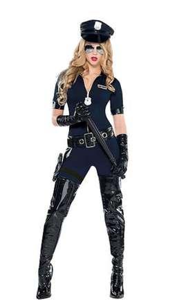 Disfraz mujer policia