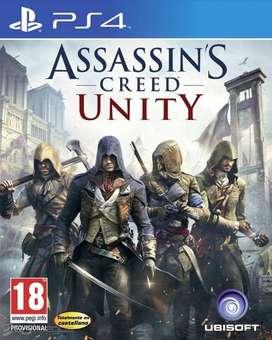 Assassins Creed Unity Playstation 4 Ps4, Físico