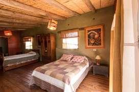 uw73 - Cabaña para 2 a 6 personas con cochera en Humahuaca
