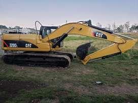 Excavadora Caterpillar 320 DL 2.007