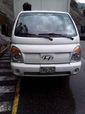 Hyundai porter H100 2010 con trabajo