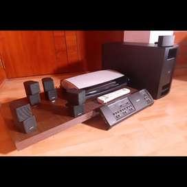 Sistema 5.1 Bose amplificador teatro subwoofer bajo 5 parlantes Jewel Yamaha Marantz denon onkyo harman