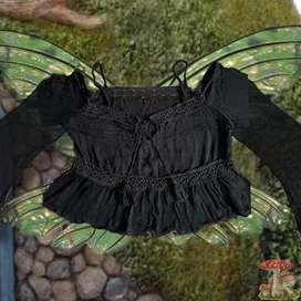 Fairy top , aesthetic , indie
