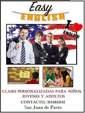 Clases de inglés con metodología personalizada