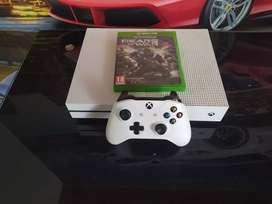 Xbox One con Gears of War 4 + cuenta con 7 juegos digitales.Negociable