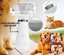 Cepillo secador de mascotas