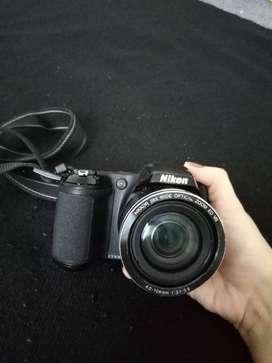 Nikon D3300 18-55mm Sin Cargador Ni Memoría Negra