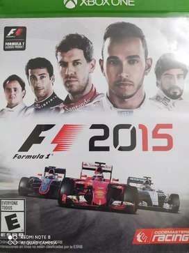 Vendo juego fórmula 1 de Xbox one