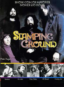 Dvd Stamping Ground con Pink Floyd, Santana y otros