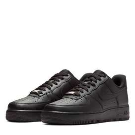 Nike Air Force 1 Negros Mujer