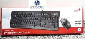 Teclado y mouse Genius C130 USB