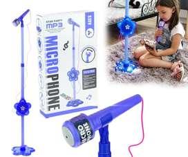 Microfono Karaoke Juguete Infantil Conexion Celular MCS0201